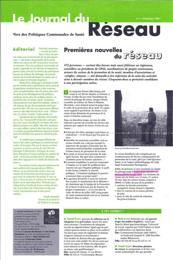 JOURNAL-DU-RESEAU-1-PRINTEMPS-2001-1