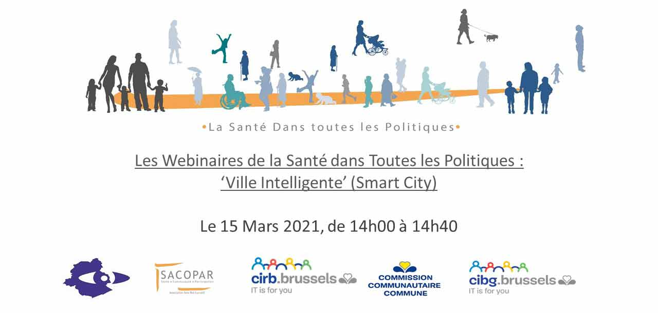 2e webinaire Ville Intelligente Smart City le 15 mars 2021